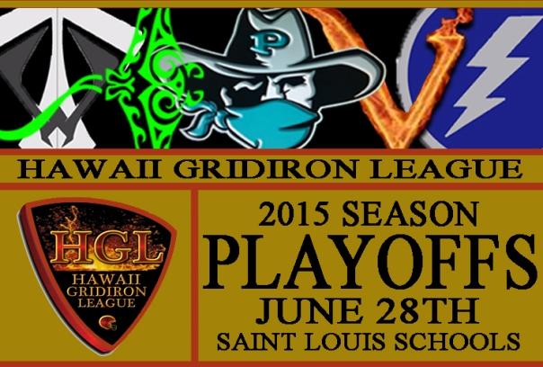2015 HGL Playoffs Flyer